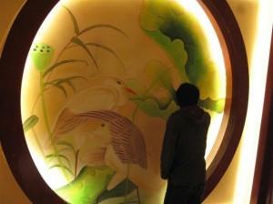 龙岩私人会所客户墙绘案例展示