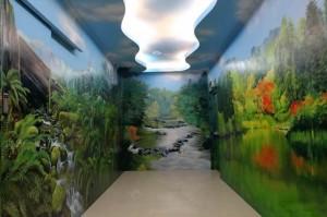 南昌湾里走廊过道墙绘展示