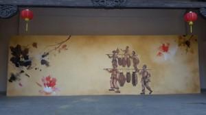 龙岩志高欢乐园客户墙绘案例展示