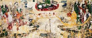 榆阳区镇川镇悬空寺:400年前古壁画亟待保护