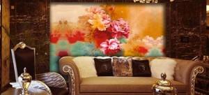 福州青墨轩墙绘展示