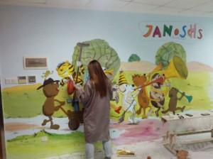 宁波幼儿园墙绘展示