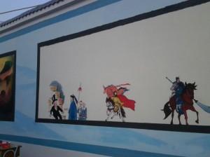 宁德永嘉学校围墙画