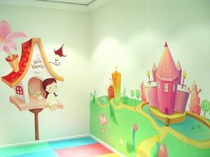 南平市实验幼儿园的儿童墙绘