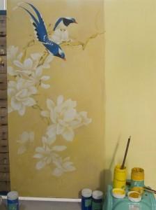 莆田市城厢区客厅墙绘