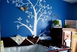 南平可爱儿童房手绘墙