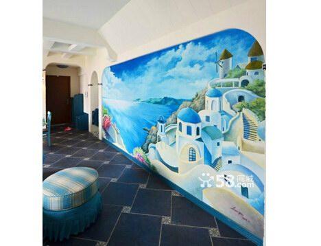 漳州手绘墙 墙绘 彩绘 专业手绘墙
