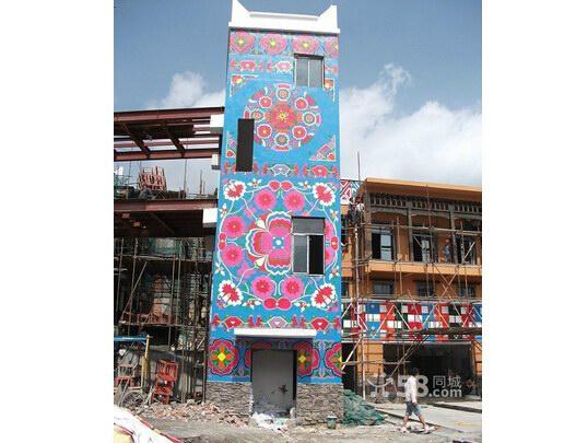 泉州幼儿园墙绘\墙体卡通画制作\外墙彩色绘画