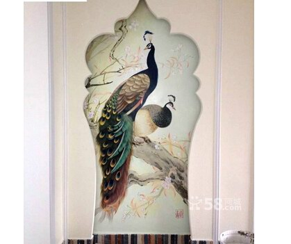 南京墙绘 墙画国画油画壁画手绘3D立体画彩绘