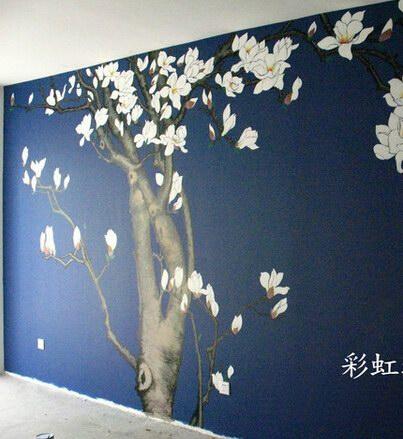 郑州墙绘—–家装墙绘,商业彩绘