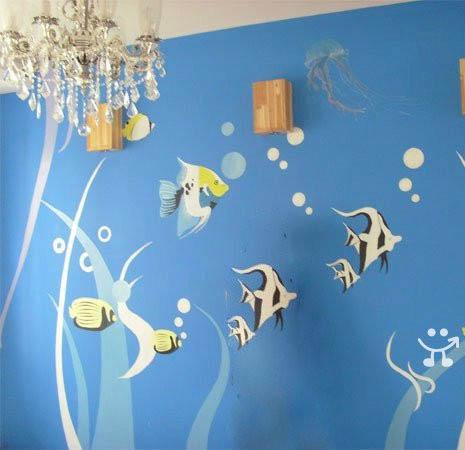 墙绘案例 - 手绘墙画案例 - 专业墙绘公司案例 中国网