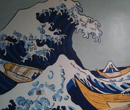 福清墙绘 福清墙体彩绘公司 福清手绘墙制作