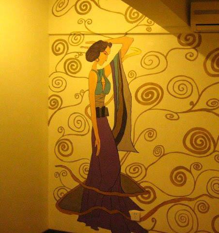 武夷山市专业墙绘提供商【3D画,装饰画,文化墙】