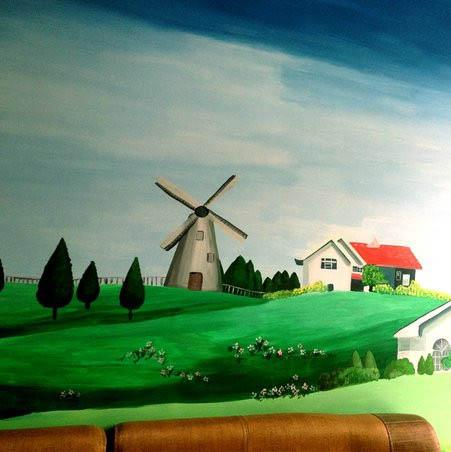 福安手绘墙体彩绘壁画 超低价格专业品质