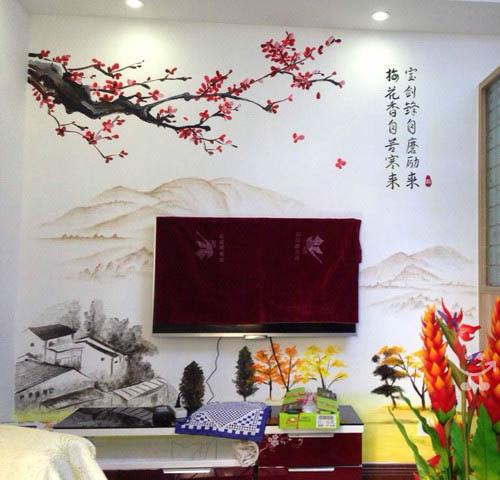 武汉专业手绘墙壁画彩绘墙绘墙画涂鸦3D立体画