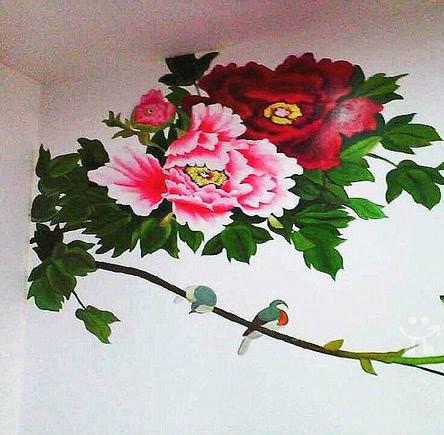 长乐专业手绘壁画 墙绘壁画 彩绘壁画 墙体壁画