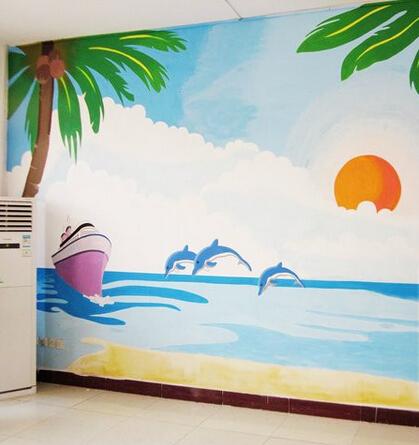 龙岩幼儿园墙绘 龙岩幼儿园手绘墙价格