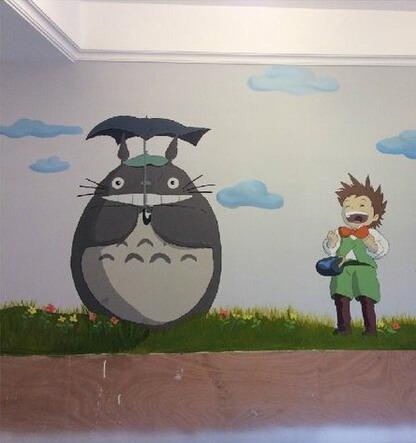 福州卡通墙画 福州儿童房墙绘 福州幼儿园手绘墙