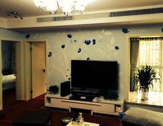 南平电视背景墙墙绘