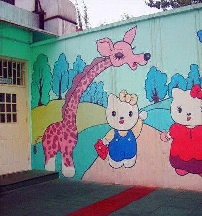 漳州幼儿园墙绘制作公司