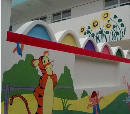 苏州幼儿园墙绘 苏州幼儿园手绘墙制作