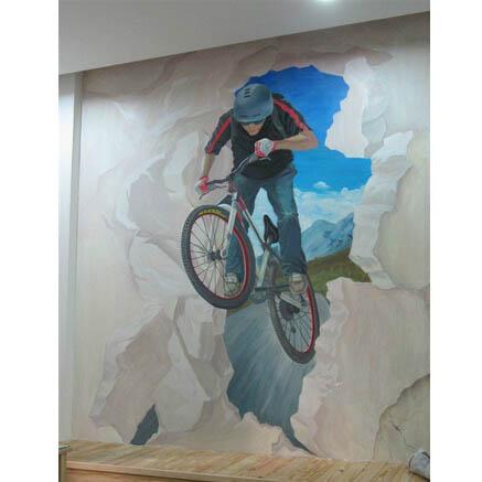 珠海3D立体画设计 珠海3D墙绘