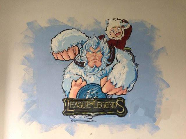 泉州卡通墙绘 动漫主题墙体彩绘工作室