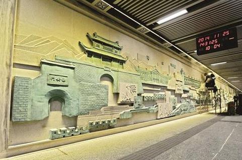 武汉地铁4号线二期共设5座 壁画特色车站