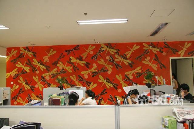 南京办公室墙体彩绘 公司墙绘