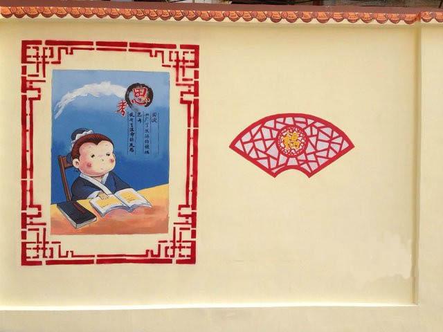 长沙文化墙彩绘制作价格 文化墙绘工作室