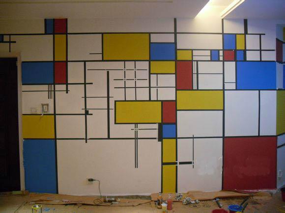 天津室内墙绘 家庭手绘墙制作
