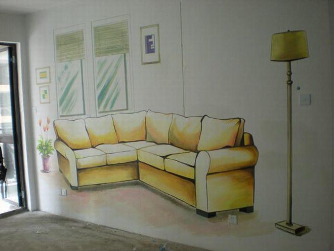 龙海样板房墙绘 龙海家庭墙绘 龙海工程墙绘公司