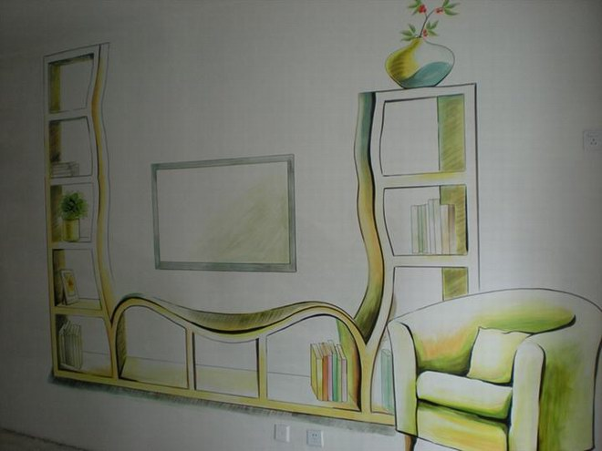 找漳州南靖的墙绘公司 各种墙体彩绘