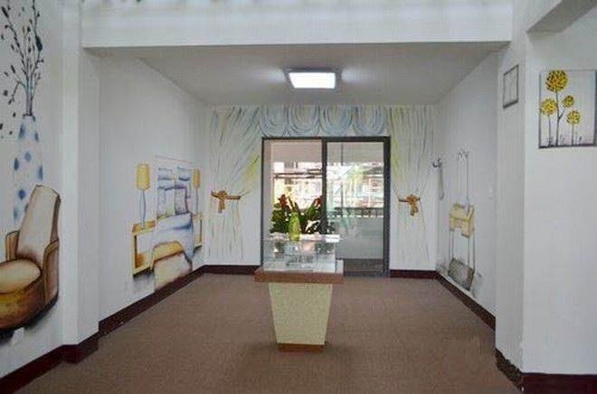 莆田样板房墙绘 制作清水情景样板房彩绘的公司