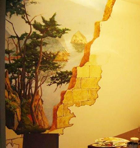 东莞墙绘彩绘、东莞墙体装饰画
