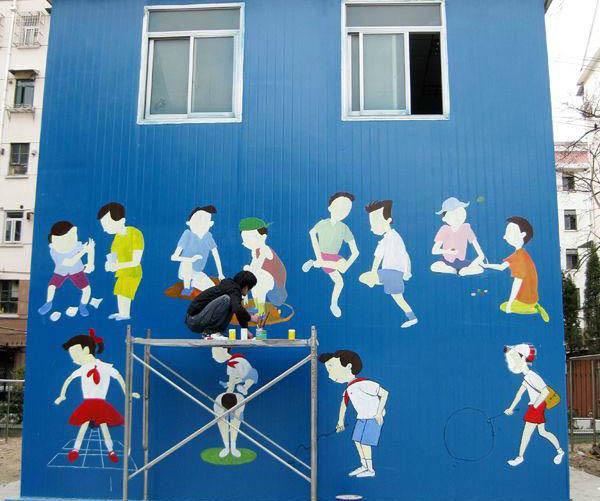 无锡幼儿园彩绘幼儿园墙绘幼儿墙绘公司