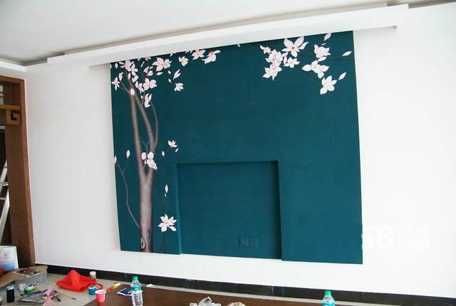 重庆家装墙绘 家庭手绘墙体彩绘