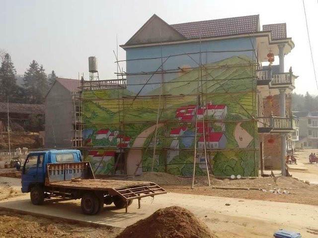 温州彩绘墙绘专业团队