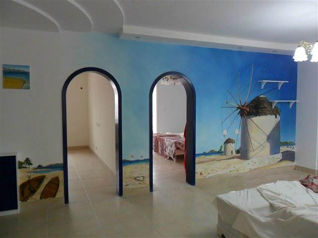 保定墙绘手绘墙艺术彩绘工作室 室内外墙体彩绘
