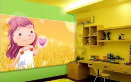 东莞儿童房墙绘,儿童房墙绘需要注意什么?