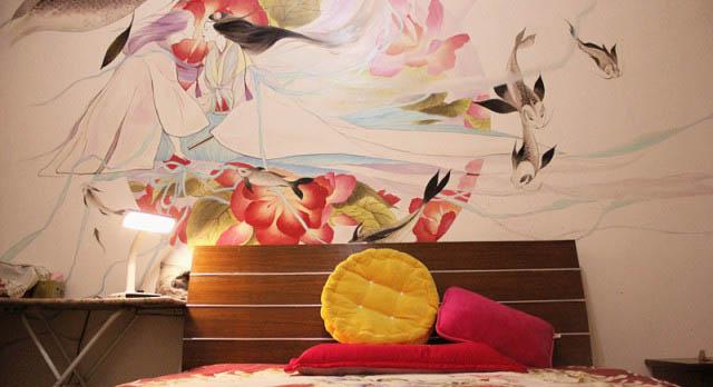 珠海墙绘教你如何辨别手绘墙质量好坏!