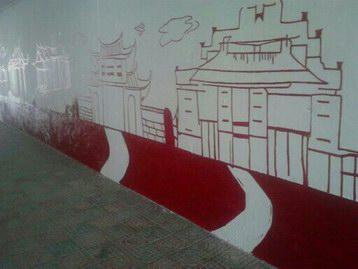 漳州手绘墙画彩绘公司