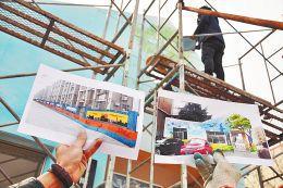 免费彩绘小区外墙获赞扬