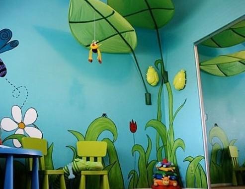 幼儿园墙体彩绘壁画绘制我们应该注意哪些方面?