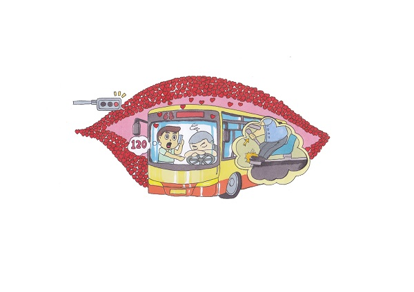 2015主题手绘公交车阿特斯墙绘设计案例展示之三