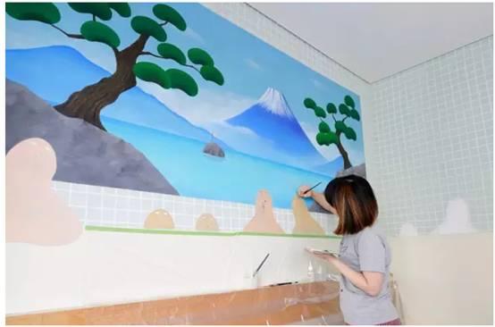 墙绘颜料涂不均怎么办?