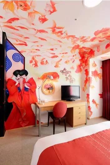 儿童房墙绘备忘 色调和图案的搭配非常重要